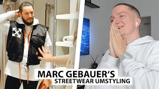 Justin reagiert auf Umstyling von Marc Gebauer.. | Reaktion