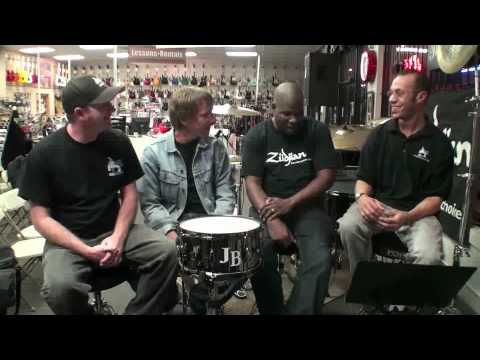 John Blackwell Interview Part 1 of 2 - Drummer Connection