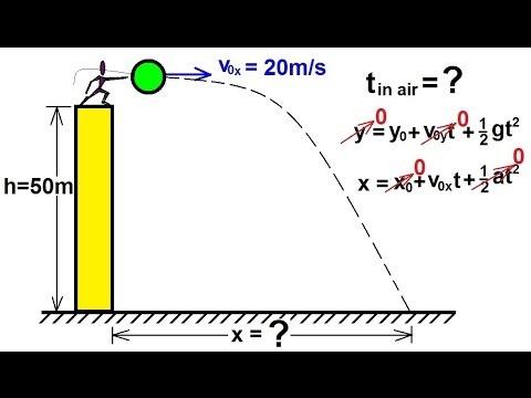 Physics - Mechanics: Projectile Motion (1 of 4)
