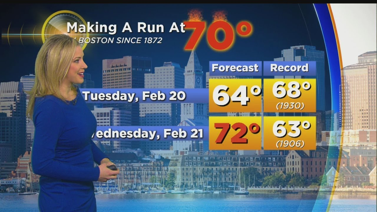 WBZ Afternoon Forecast For February 18