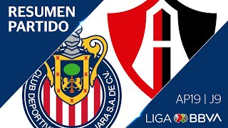 Resumen y Gol | Guadalajara vs Atlas | Jornada 9 - Apertura 2019 | Liga BBVA MX