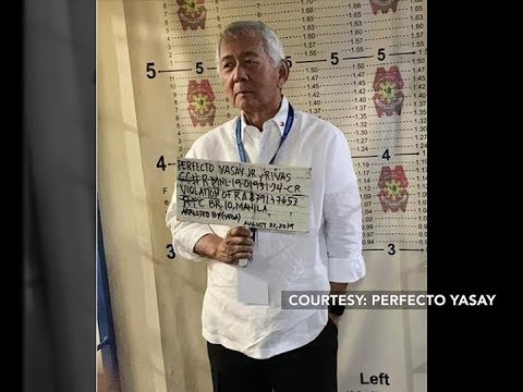 Former Foreign Affairs Chief Perfecto Yasay arrested for allegedly violating banking laws