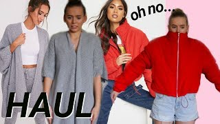 HUGE pretty little thing haul || what do I really think?