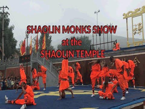 Shaolin Show in Shaolin temple / Shaolin Monastery Zhengzhou