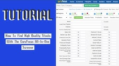 How To Find High Quality Stocks With The GuruFocus All-In-One Screener