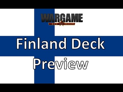 Wargame Red Dragon - Finland Preview Deck