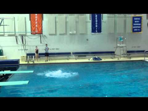 Ali House - Diving 305C - 4/11/15. Blue Wave