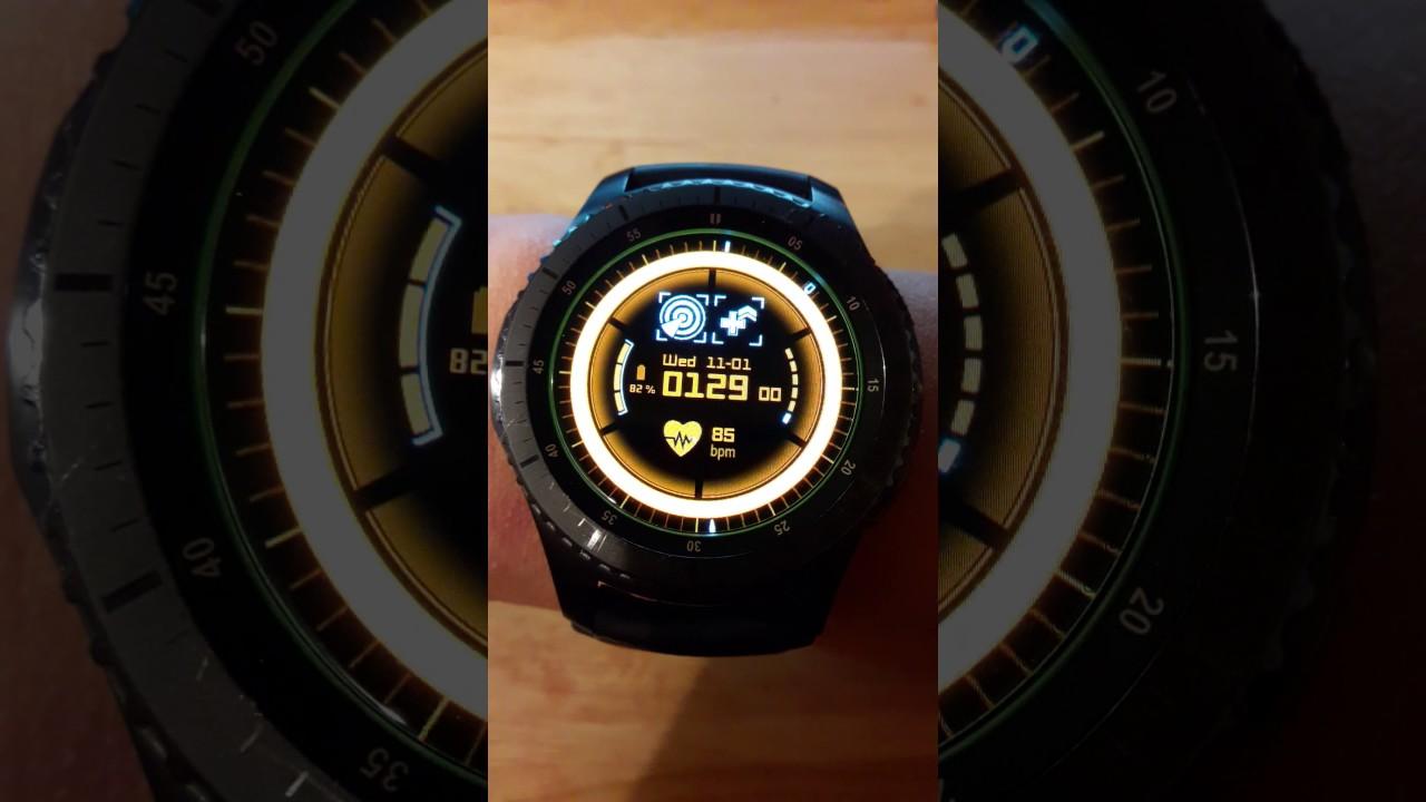 [The Division] G3-AR Alpha Watchface for Samsung Gear S2 ...
