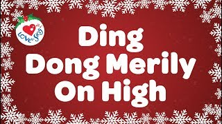 Download Ding Dong Merrily on High with Lyrics   Christmas Carol & Song
