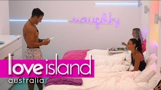The boys spoil the girls with a romantic gesture   Love Island Australia 2018