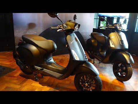 Vespa Notte Edition for GTS Super  ABS and Sprint  i-GET ABS