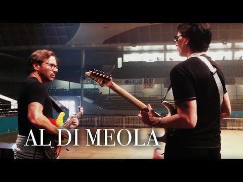 Al Di Meola® and Steve Vai Jamming in Prague, Czech Republic