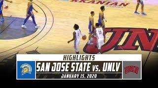 San Jose State vs. UNLV Basketball Highlights (2019-20) | Stadium