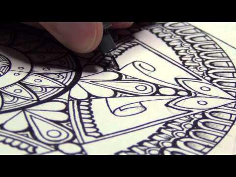 A Mandala And Drawing Mindsets