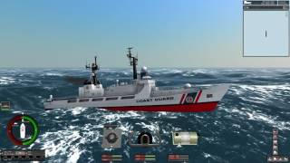 Ship Sim Extremes high waves game play