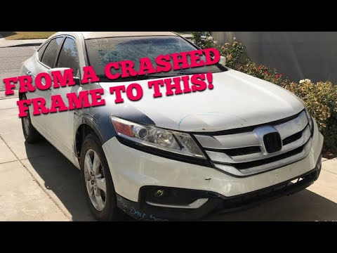 The CRASHED CrossTour Is Finally Home!