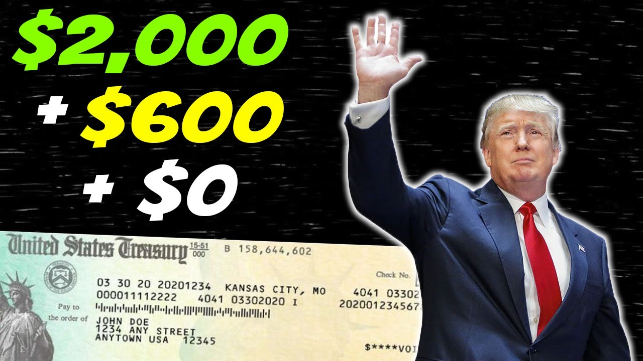 Checks SENT! $2,000 Second Stimulus Check Update & NEW Stimulus Package Update - (GOOD) Dec 30
