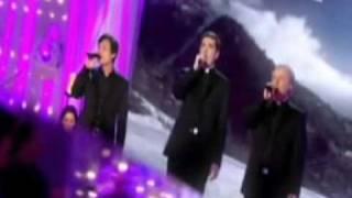 Les Pretres chantent chez Michel Drucker
