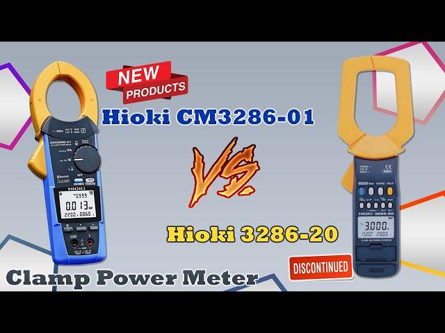 Perbandingan Clamp Power Meter Hioki 3286-20 vs CM3286-01