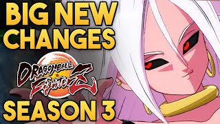 New Android 21 Actually TOP TIER?! - Patch Notes Breakdown | Season 3 Dragon Ball FighterZ | DBFZ