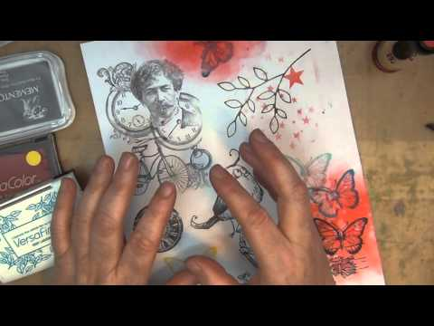 STAMPING TECHNIQUES - INKS, PAPERS, COLOURING MEDIUMS AND TOOLS