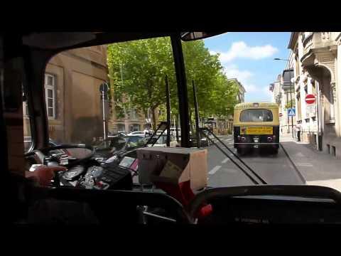 Promenade en Mercedes O305 232 - JPO Tramsmusee Luxembourg