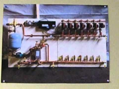 Prefab Piping Module For Diy Radiant Floor Heating