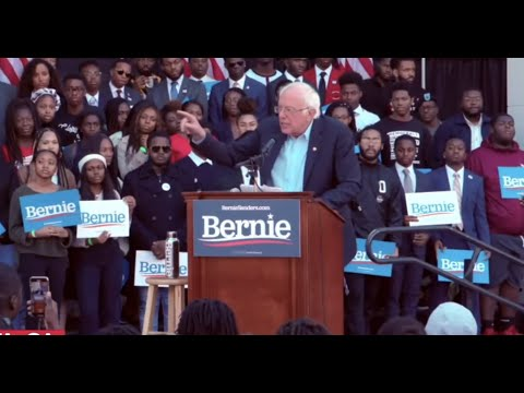 Bernie Rallies at Morehouse College