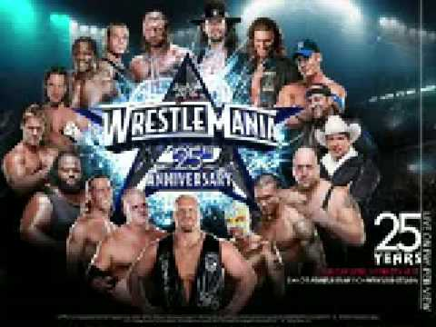 "WWE Wrestlemania 25 Official Theme - ""War Machine"" by AC/DC"