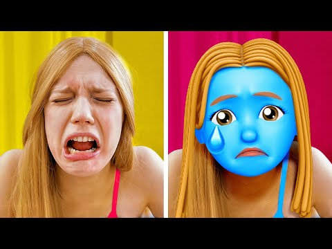 My Emotions Control Me || Funny Pranks, Hacks & Relatable Things