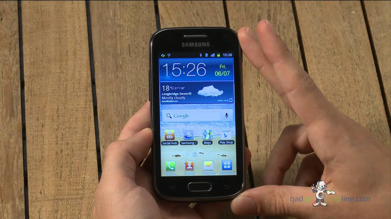 samsung galaxy ace how to stop alarm