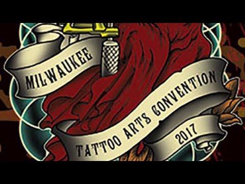 Milwaukee villain arts tattoo convention 2017 youtube for Tattoo removal milwaukee