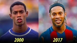 Ronaldinho - Transformation From 1 To 37 Years Old