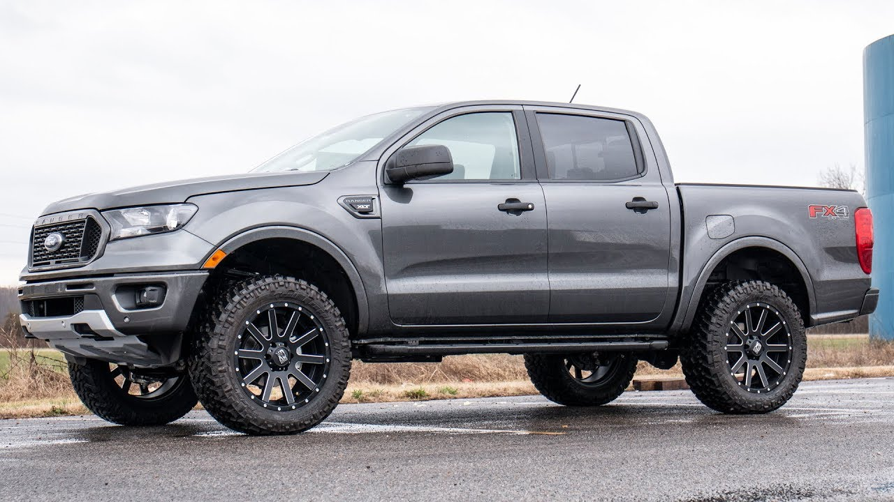 2019 Ford Ranger 2.5 Inch Leveling Kit By Rough Country