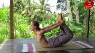 Dhanurasana and Parsva Dhanurasana (Bow Posture)