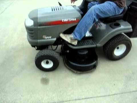 Lastbidonline Com Craftsman Lt1000 Lawn Tractor W 2 Bushel
