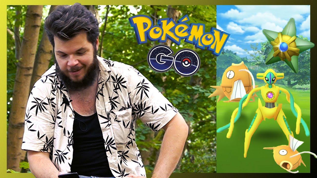 En shiny deoxys och 18 andra shinys fångade på en dag i PokemonGO