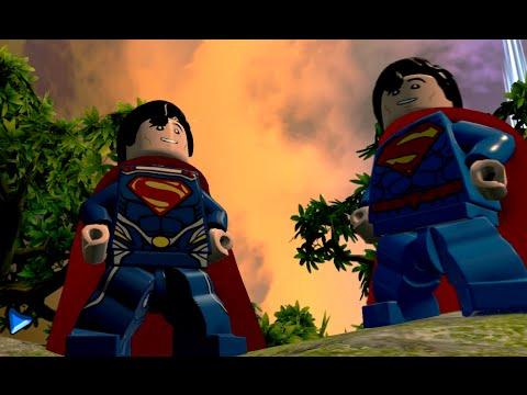 LEGO Batman 3: Beyond Gotham - Superman (Man Of Steel) Free Roam Gameplay (Man Of Steel DLC)