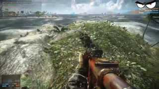 Why Battlefield 4 is the best sniping game on the market + awesome/hilarious game-play footage!