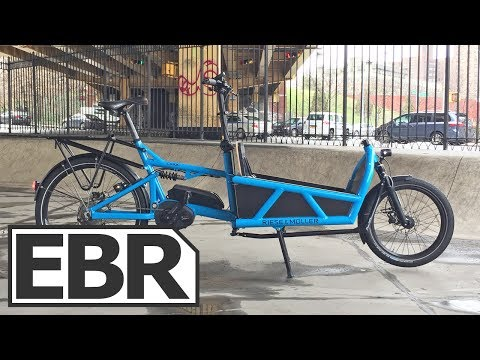 Riese & Müller Load Touring HS Video Review - Full Suspension Speed Electric Cargo Bike