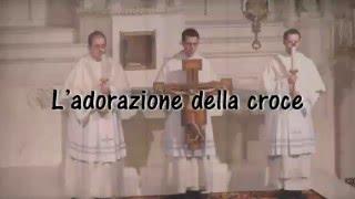 L'adorazione della croce