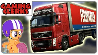 Euro Truck Simulator 2 | Multiplayer Drag-Race of Doom -- #1