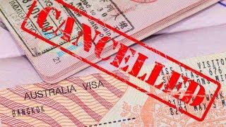 Отказ в визе и ужесточение в иммиграции Анонс