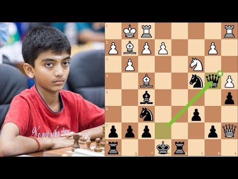 Самый молодой гроссмейстер Индии. Шахматы блиц