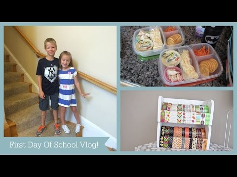 """First Day Of School Vlog"" 