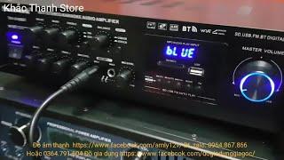 Amply karaoke hay điện 12v 220 6188BT quá hay chỉ 1tr250k