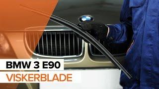 Sådan udskifter du Viskerblade for på BMW 3 E90 GUIDE | AUTODOC