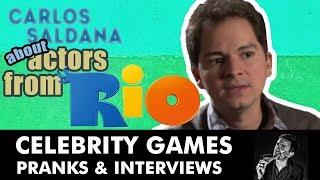 Carlos Saldanha Movie Director Interview - Casting For Rio 2011 Film