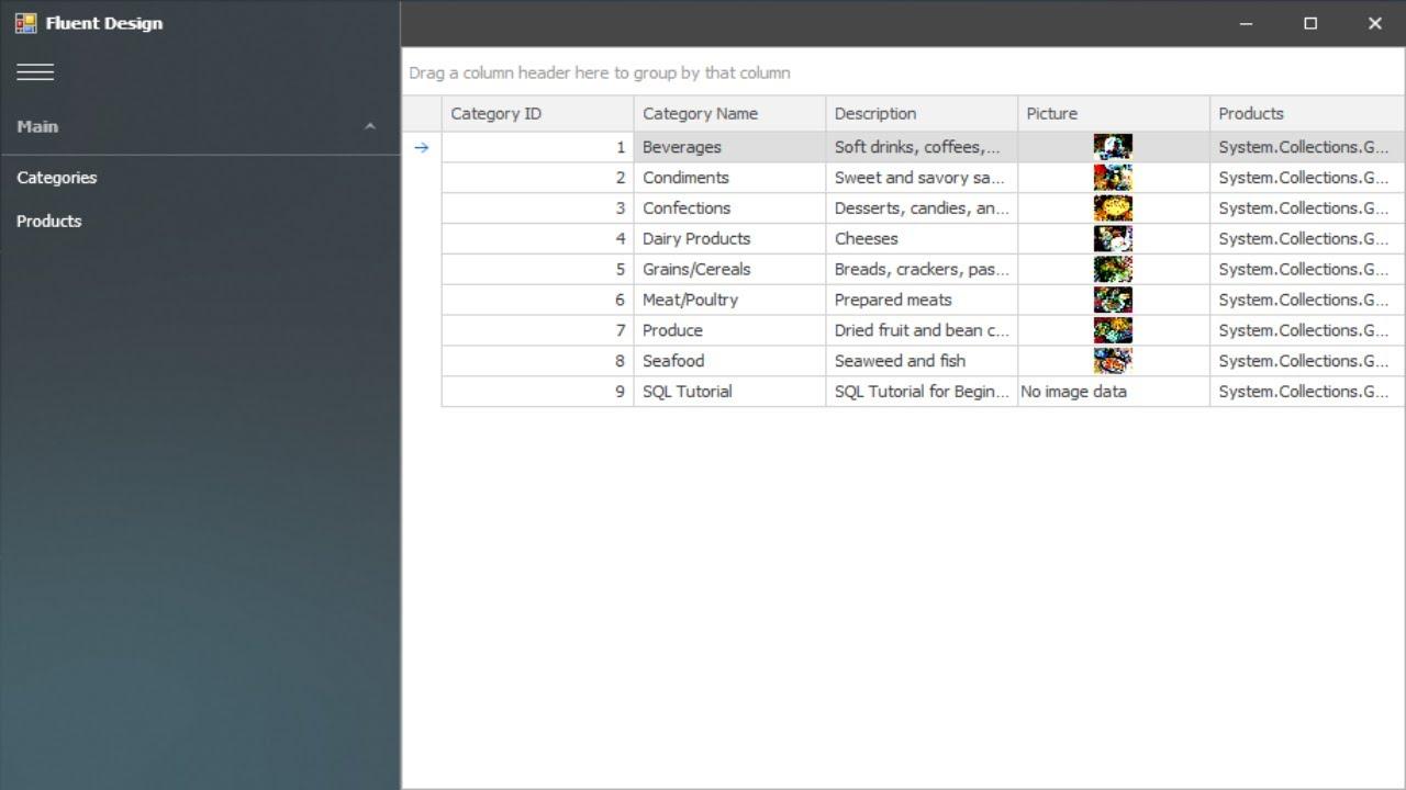 DevExpress Tutorial - Fluent Design Form | FoxLearn