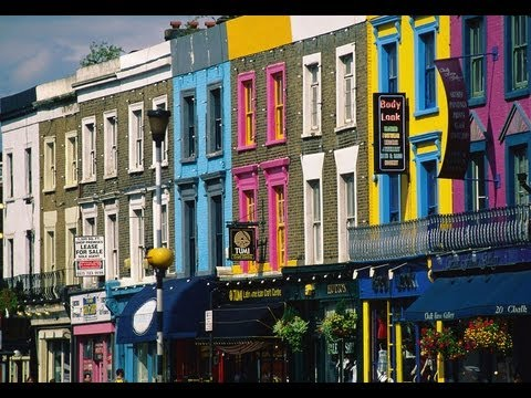 explore notting hill area london video travel guide youtube. Black Bedroom Furniture Sets. Home Design Ideas